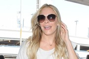 LeAnn Rimes Departing From LAX