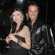 Fabrice Sopoglian Lea Lorraine On A Night Out At Cheetahs In Hollywood