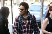Lenny Kravitz Out and About in NYC