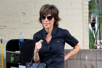 Lisa Rinna Lisa Rinna Lunches in Beverly Hills