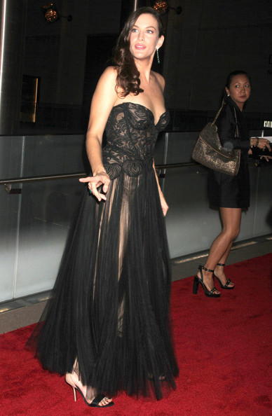 Liv Tyler Celebrities at the 2011 New York City Ballet Fall Gala at the David Koch Theatre at Lincoln Center in New York City, NY.