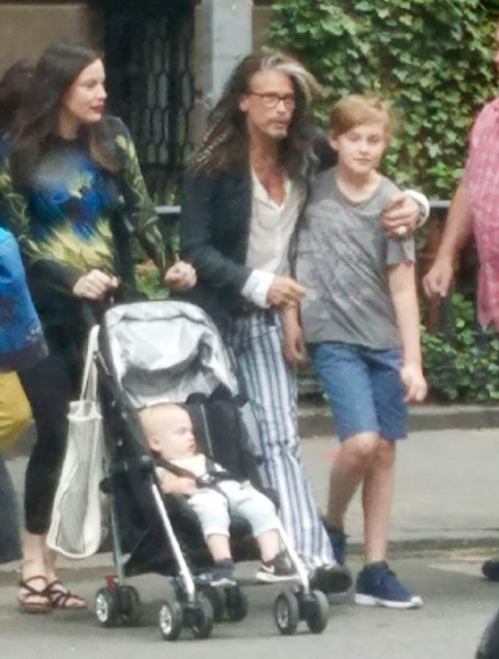 Liv Tyler and Steven Tyler Have Some Father/Daughter Bonding