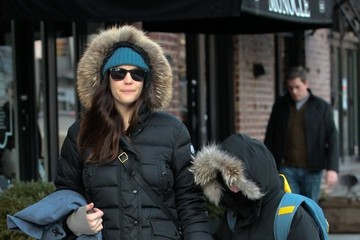 Liv Tyler Liv Tyler Walks Milo to School