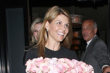 Lori Loughlin Celebs Dine Out At Craig's