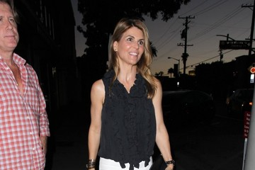 Lori Loughlin Celebrities Dine Out at Craig's Restaurant