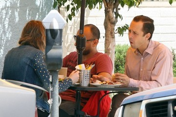 Lucia Ribisi Giovanni Ribisi Takes His Daughter Out For Lunch