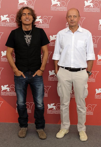 Luciano Ligabue and Piergiorgio Gay - 67th Venice Film Festival -