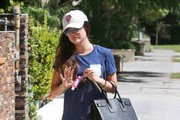 Lucy Hale Leaves the Gym