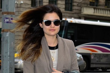 Lucy Hale 'Pretty Little Liars' Cast Out in NYC