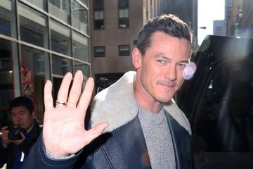 "Luke Evans Celebrities Visit ""Today"" Show"