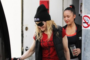 Madonna Madonna Leaves The Gym After A Workout