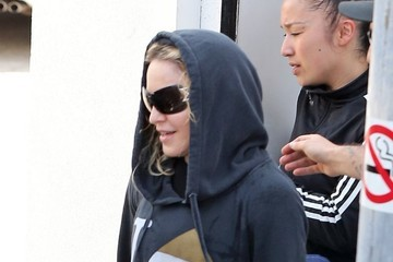 Madonna Madonna Leaving A Dance Studio
