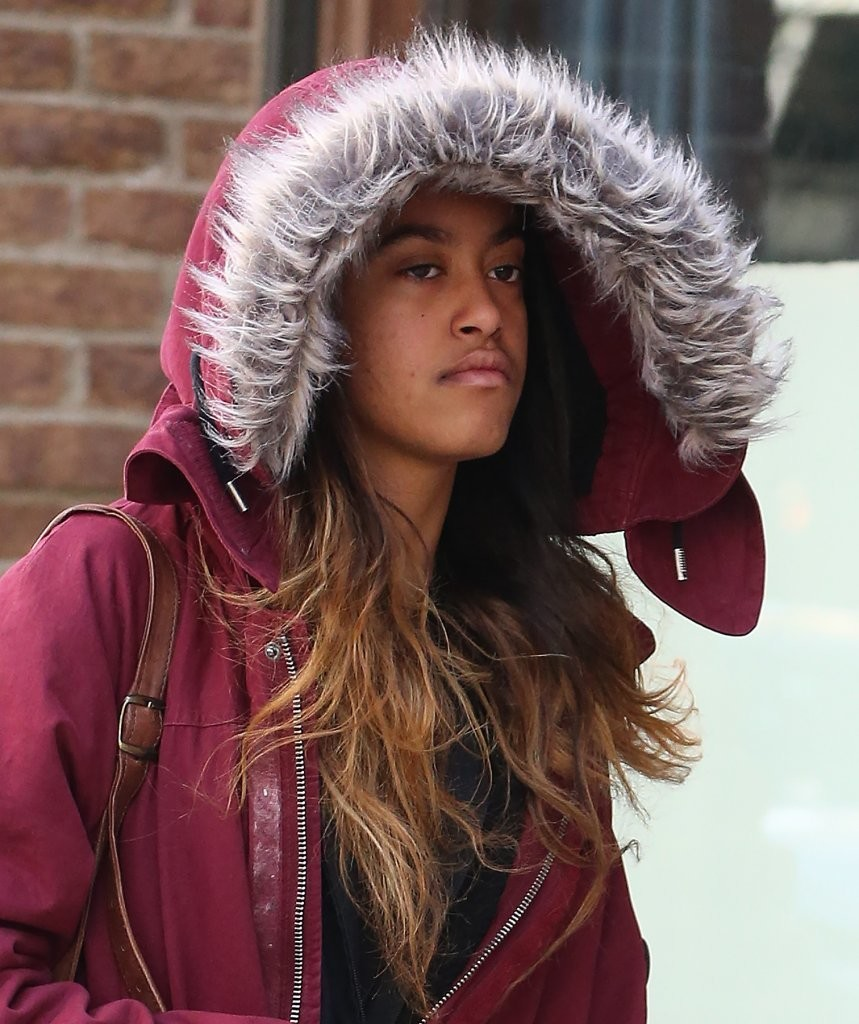Malia Obama In Malia Obama Is Seen Out And About In Nyc
