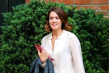 Mandy Moore Mandy Moore Spotted Out And About In NYC