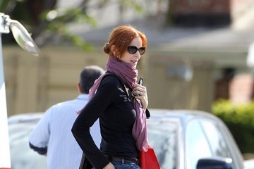 Marcia Cross Marcia Cross Shopping In Santa Monica