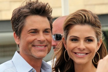 Maria Menounos Rob Lowe Drops by 'Extra!'