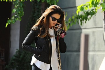 Maria Shriver Maria Shriver Out For Breakfast in Brentwood