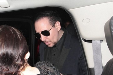 Marilyn Manson Celebrities Attend Johnny Depp & Amber Heard's Engagement Party