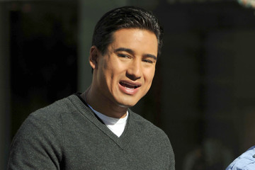 Mario Lopez Mario Lopez Arriving At The Grove To Film The Show EXTRA
