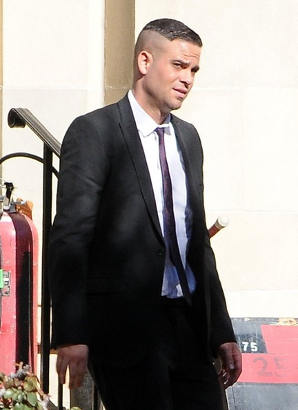 "Mark Salling - ""Glee"" Films in LA"