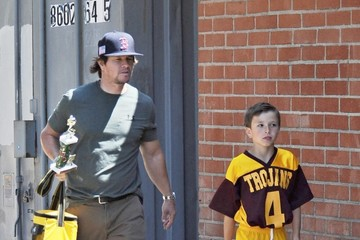 Mark Wahlberg Mark Wahlberg & His Wife Watch Their Son's Soccer Game