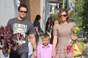 Mark Wahlberg Michael Wahlberg Mark Wahlberg & Family Attend A Party