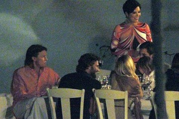 Mason Disick The Kardashian Family Has Dinner During Greek Vacation