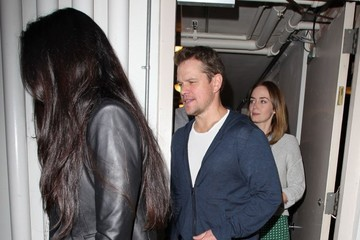 Matt Damon Ben Affleck Gets Dinner with His Famous Friends