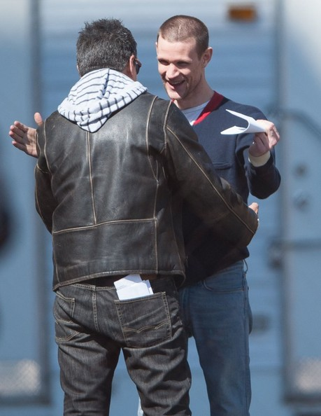 Matt Smith Films 'How to Catch a Monster' in Detroit (Matt Smith)