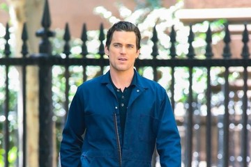 Matthew Bomer 'White Collar' Films in NYC