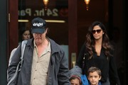 Matthew McConaughey and His Family Go out in New york