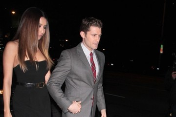 Matthew Morrison Celebs Enjoy a Night Out at Hooray Henry's