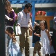 Max Anthony Jennifer Lopez and Marc Anthony Meet in LA