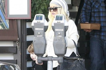 Max Bratman Christina Aguilera Out to Lunch
