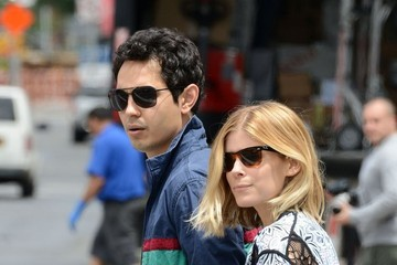 Max Minghella Kate Mara and Max Minghella Hold Hands