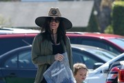 Megan Fox Goes With Her Family to Paradise Cove