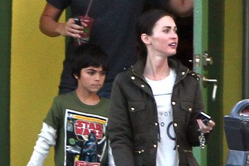 Kassius Green Megan Fox And Stepson Out For Lunch In Studio City