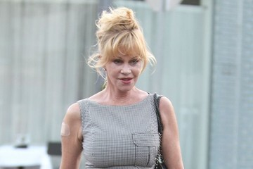 Melanie Griffith Melanie Griffith Out For Lunch With A Friend