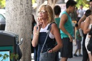 Melanie Griffith Out and About in Larchmont