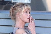 Melanie Griffith Out For Lunch With A Friend