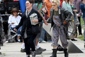 Melissa McCarthy Melissa McCarthy and Kate McKinnon Ham it Up While Filming 'Ghostbusters'