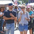 Melissa Ordway Justin Gaston and Melissa Ordway Hit the Studio City Farmers Market