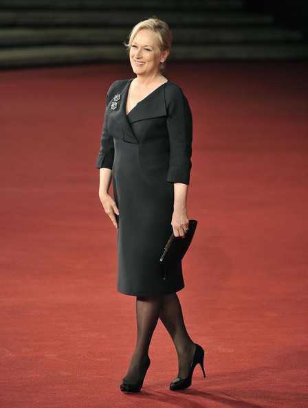 Actress Meryl Streep attending the 'Meryl Streep' documentary at the 4th Annual Rome International Film Festival, Rome, Italy.