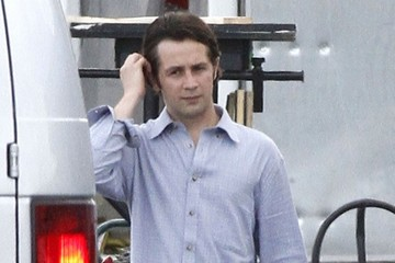 Michael Angarano Stars on the Set of 'Heat'