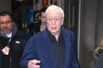 Michael Caine Celebrities Attend 'The Today Show' in NYC
