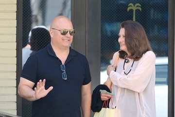 Michael Chiklis Michael Chiklis Grabs Lunch With a Friend