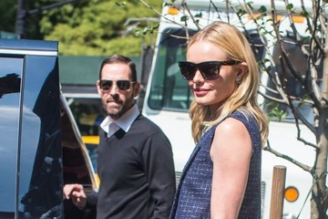 Michael Polish Kate Bosworth and Michael Polish Step Out in New York