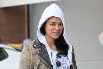Michelle Rodriguez Michelle Rodriguez Out in Beverly Hills