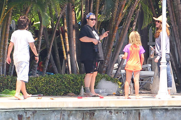 Michelle Round Rosie O'Donnell Take Her Family and Freinds Boating