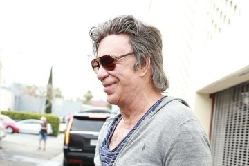 Mickey Rourke Mickey Rourke Goes Out for Lunch in Beverly Hills